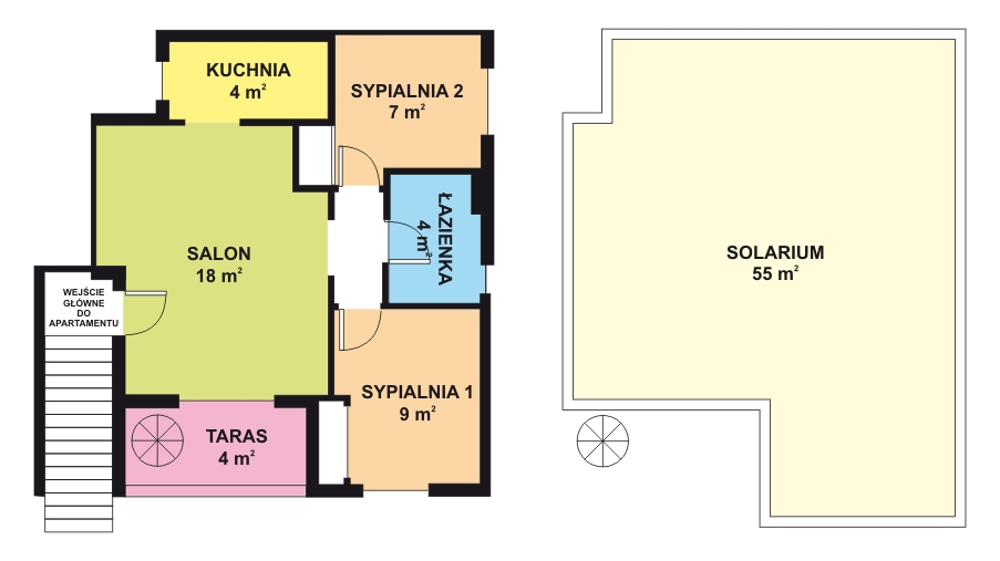Apartament_Orange_rzut_plan